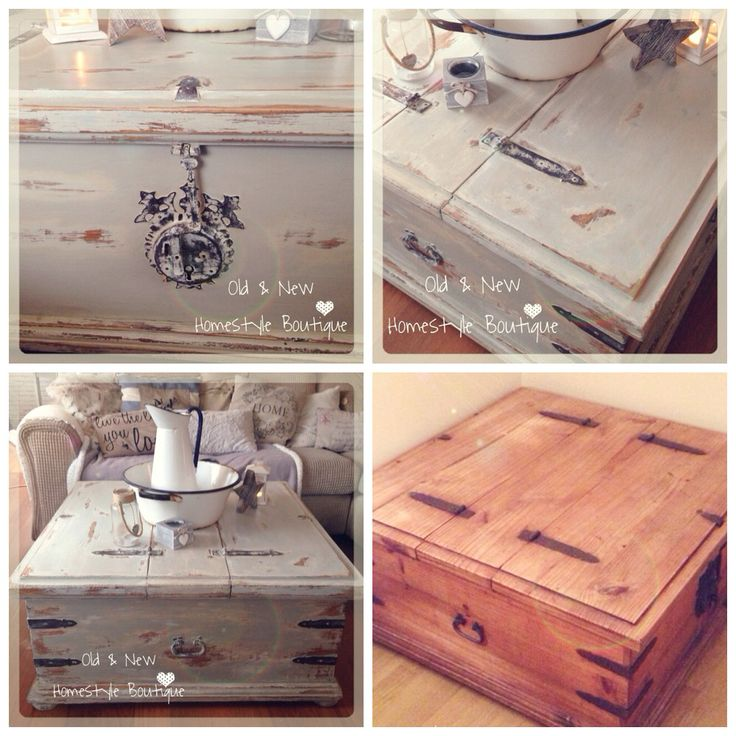 Ive given this old Mexican pine chest a makeover using