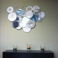 drum-head wall art. I'm looking to do something like this ...