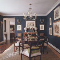 Best 25+ Navy dining rooms ideas on Pinterest | Blue ...
