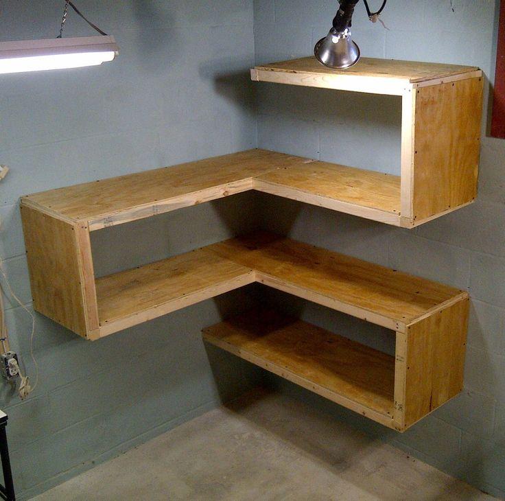 Corner Shelf Design Plans