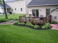 Around the deck landscape | Gardening | Pinterest | Decks ...