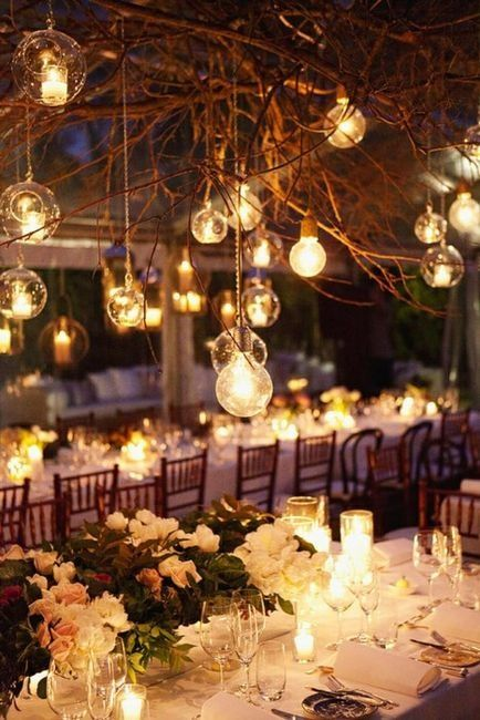 25 Best Ideas About Night Wedding Lighting On Pinterest Vintage