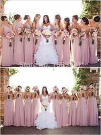17 Best ideas about Dusty Rose Bridesmaid Dresses on ...