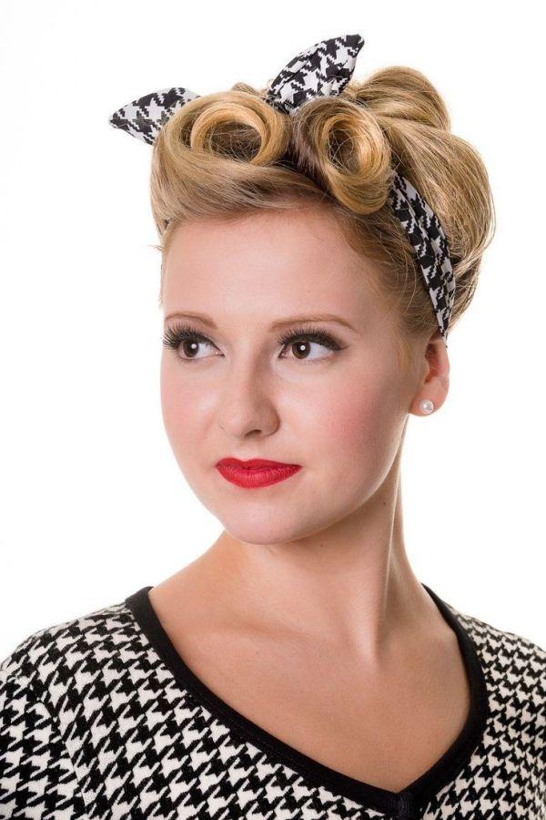 30 Retro Headband Hairstyles For Women Hairstyles Ideas Walk