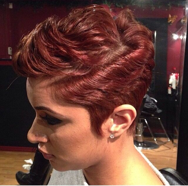 240 Best Images About Girls With Short Hair ROCK!!! GWSHR! On