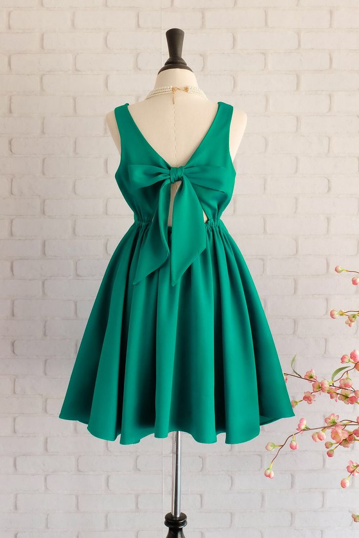 17 Best ideas about Emerald Green Bridesmaid Dresses on