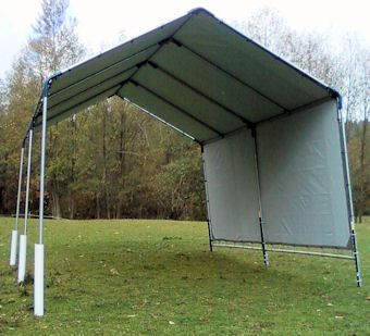Portable Horse Run In Shed Shelter Protect Your Animals