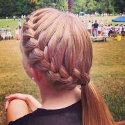 softball hairstyles ideas