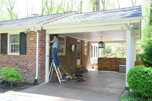 Building A Garage Or Carport Pergola House Building A