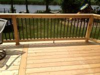 17 Best ideas about Wood Deck Railing on Pinterest | Porch ...