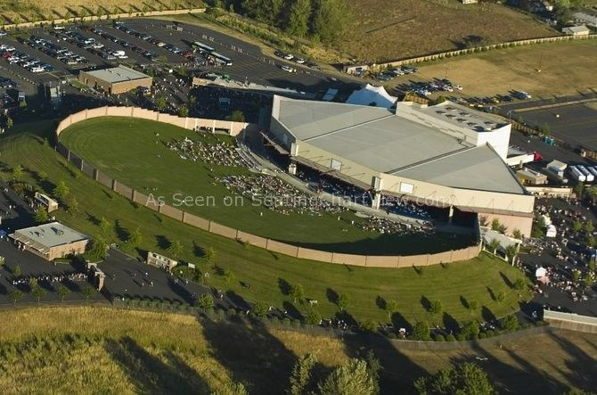 Sleep Country Amphitheater Ridgefield WA  Seating Chart