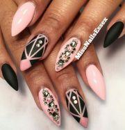 ideas pink black