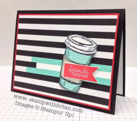 Perfect Blend, Banner Greetings, Stampin' Up!, Brian King, PP184