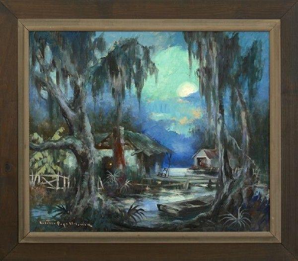 Swamp Idyll Colette Pope Heldner Louisiana 1902 1999