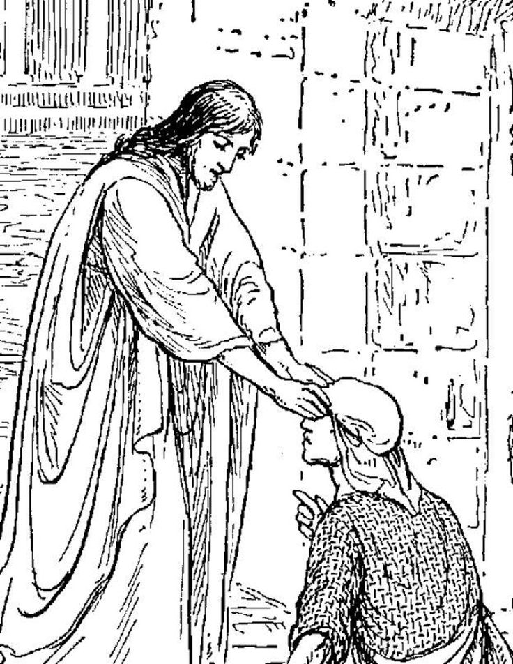 17 Best images about Jesus heals the blind man on