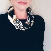 17 Best images about Small Silk Square Scarves (Bandanas