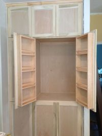 25+ best ideas about Kitchen pantry cabinets on Pinterest