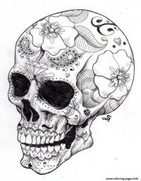 25+ best ideas about Sugar Skull Drawings on Pinterest ...