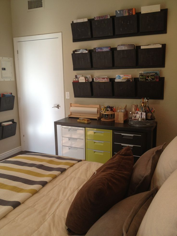 space saving high chair bertoia side 17 best ideas about bedroom office combo on pinterest   murphy bed office, room and ...