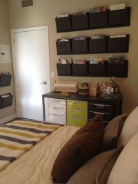 17 Best ideas about Bedroom Office Combo on Pinterest
