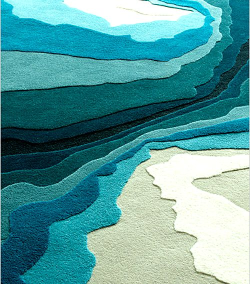 Modern rugs by Edward Fields This would b e beautiful