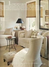 Country Home Feature. #1 Start with a Neutral Palette ...