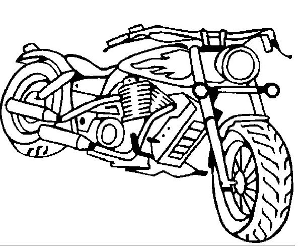 Harley davidson, Print coloring pages and Coloring pages