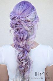 silver purple hair ideas