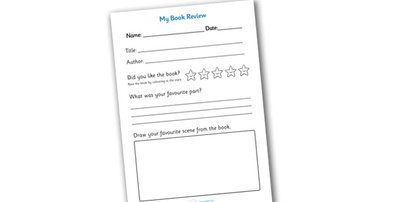 1000+ ideas about Book Review Template on Pinterest
