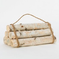 Birch Log Bundle, Small   Faux fireplace, Fireplaces and ...