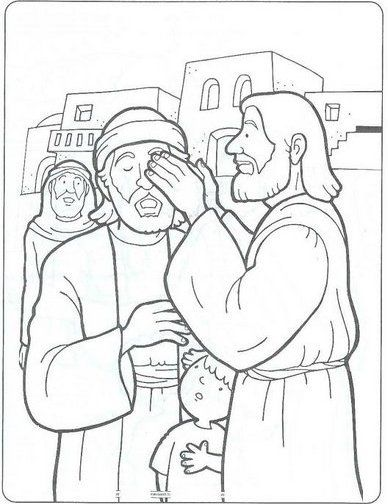 25 best images about JESUS HEALS THE BLIND MAN !!! on