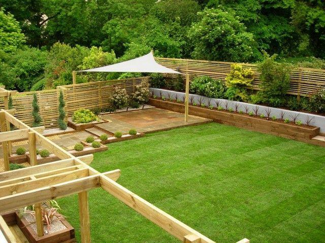 bepflanzt pergola sonnenschutz garten gestaltung sichtschutz, Garten und erstellen