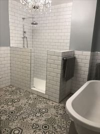 1000+ ideas about Half Wall Shower on Pinterest | Half ...