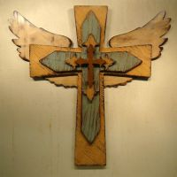 25+ best ideas about Painted wooden crosses on Pinterest ...