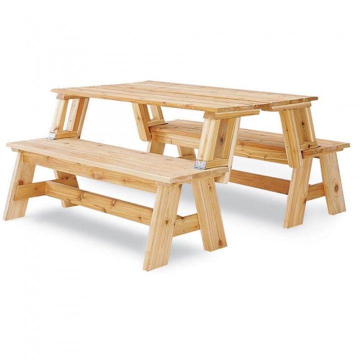 Picnic Table Bench Combo Plan Bench Plans Picnic