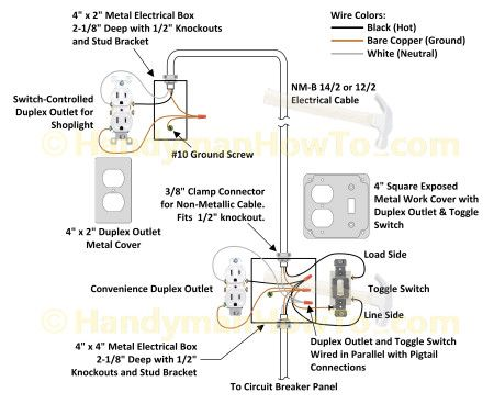 Wiring Multiple Electrical Outlets Diagram How To Wire Multiple