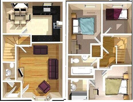 Floor plan  Hogar y decoracion  Pinterest  Floor plans and Floors