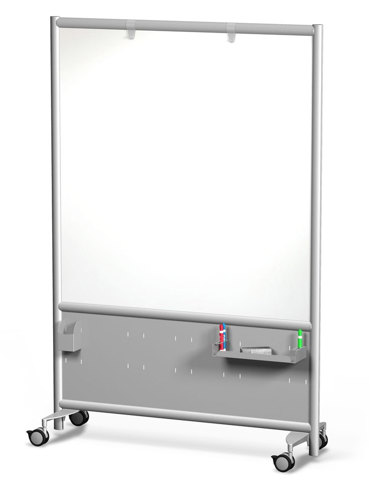 Frontage Mobile Whiteboard With Accessories  Mobile