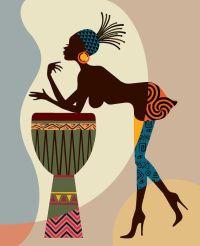 African American Art, African wall Art Decor, African ...