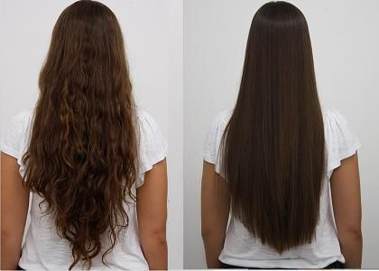 Before And After Results By Zelo Brazilian Keratin Hair