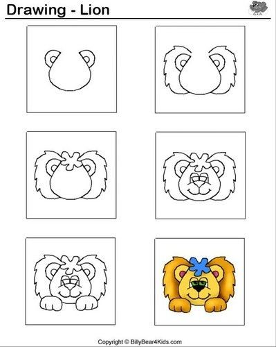 17 Best images about Thema leeuwen kleuters / Lion theme