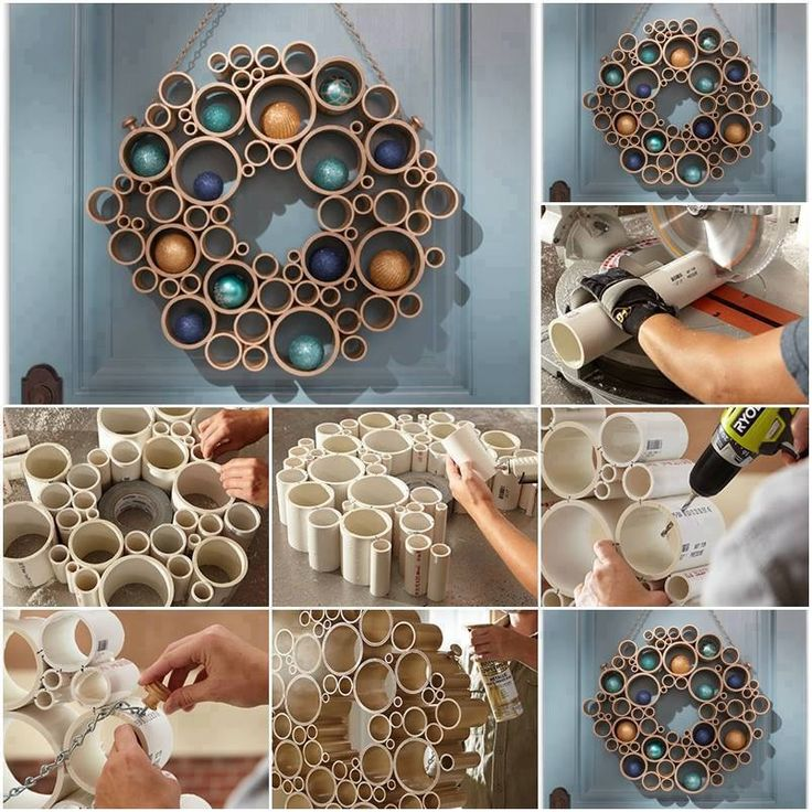 Pvc Pipe Art  Pvc Pipe  Pinterest  Diy And Crafts, Wall