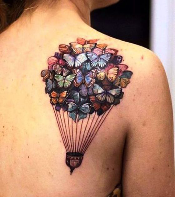 20 Small Rip Balloon Tattoos Ideas And Designs
