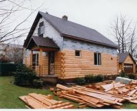 25+ best ideas about Log siding on Pinterest | Log cabin ...
