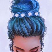 ideas drawing hair