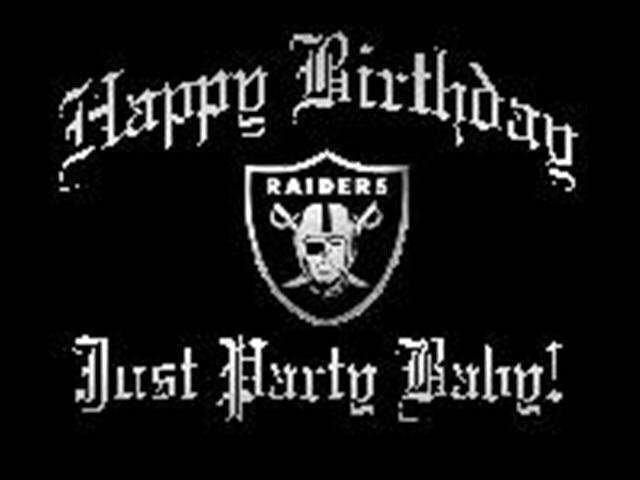 Raiders Memes Happy Oakland Birthday