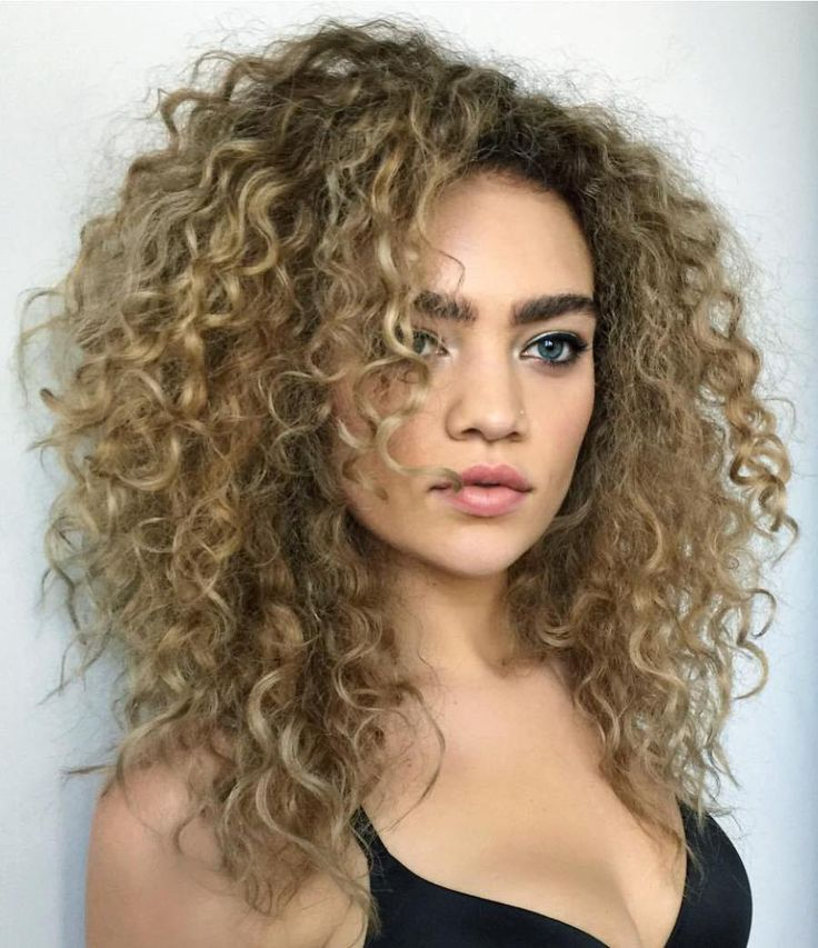 17 Best ideas about Layered Curly Hair on Pinterest