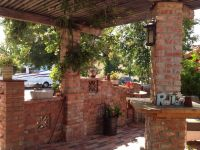 Front courtyard... Reused brick DIY   Landscaping Ideas ...