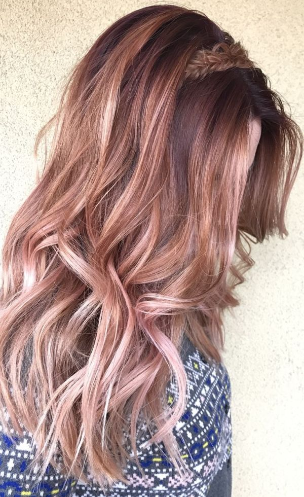 30 Rose Brown With Highlights Short Hairstyles Hairstyles Ideas
