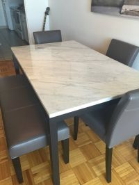 25+ best ideas about Marble dining tables on Pinterest ...